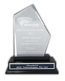Energex Suppliers Quality Award 2002