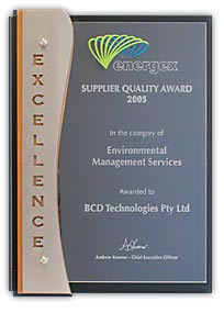 Energex Suppliers Quality Award 2005